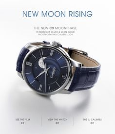 New Moon Rising - The New C9 Moonphase incorporating Calibre JJ04