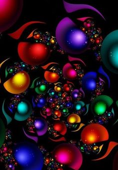 Samsung Galaxy Wallpaper, Homescreen Wallpaper, Iphone Wallpaper, Neon Wallpaper, Color Symbolism, Bubbles Wallpaper, Artwork Images, Colorful Wall Art, Christmas Scenes