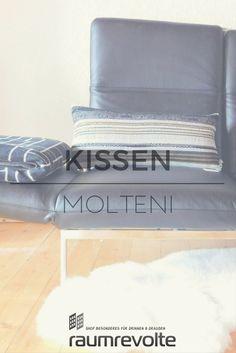 Kissenbezug Molteni und Decke Manhattan von pad
