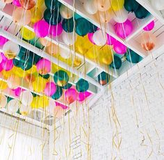 Colour lifts you up! #colour #baloons #partydecorations