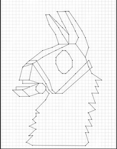 Using only the first quadrant, students will plot and connect ordered pairs to reveal a character similar to one from one of their favorite video games (Fortnite). Llama Costume, Llama Drawing, Llama Pictures, Blackwork Cross Stitch, 100 Days Of School, Boy Art, Diy Canvas, Animal Drawings, Irene