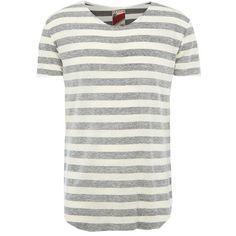 T-Shirt mit Streifenmuster - Cooles graues T-Shirt von Review. Das trendige Streifenmuster ist besonders cool. Dazu passen Skinny Jeans und Sneakers. - ab 17,95€