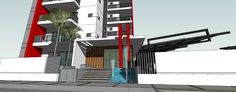 Lujosa torre de 15 pisos con Gimnasio y Piscina con area social, vista a la ciudad de Santiago, sector de La Esmeralda, a pocos minutos de Plaza Inter...