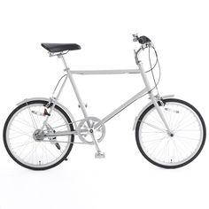 20型クロモリ自転車コンパクトタイプ グレー・内装3段泥除け付き | 無印良品ネットストア