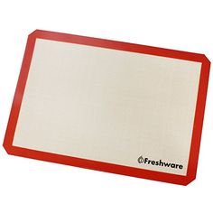 Freshware Silicone NonStick Baking Mat Big 23 Size 195 x 136 inch BM103 * Continue to the product at the image link.Note:It is affiliate link to Amazon.