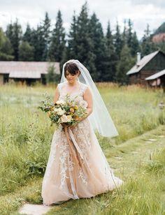 Tendance Robe du mariée 2017/2018  Reem Acra Blush Wedding Dress