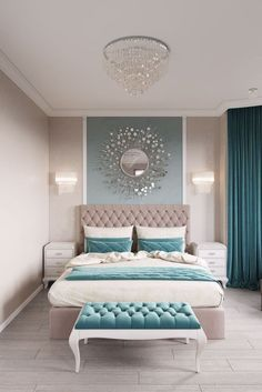 11 Modern and Luxurious Bedrooms With Baroque Style 01 Romantic Farmhouse Master Bedroom Ideas 53 Modern Bedroom Design Ideas That Very Recommended This Year Simple Bedroom Design, Luxury Bedroom Design, Master Bedroom Design, Home Decor Bedroom, Bedroom Furniture, Bedroom Designs, Diy Bedroom, Bedroom Wall, Master Bedrooms