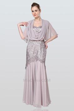Έναστρο πιέτα Φερμουάρ επάνω Κομψό  amp  Πολυτελές Μισό Μανίκι Μητέρα της  νύφης φόρεμα Βραδινές Τουαλέτες 83b670a6334