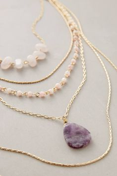 Violett Layer Necklace #anthrofave #anthropologie More