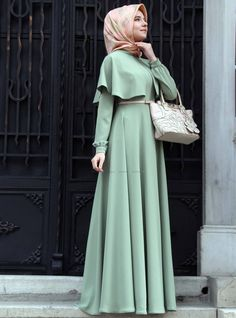 hijab fashion styles 2015 Muslimah Fashion & Style(Niqab hijab and dress - Hijab Muslim Dress, Hijab Dress, Hijab Outfit, Dress Muslimah, Dresses For Hijab, Dress Pants, Islamic Fashion, Muslim Fashion, Modest Fashion