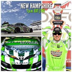 nascar race today in nh