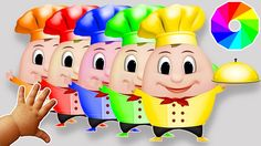 Learn Colors with Humpty Dumpty Wooden Toys nursery rhymes for children ...
