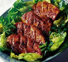 Orange chicken - a quick and easy family favourite.
