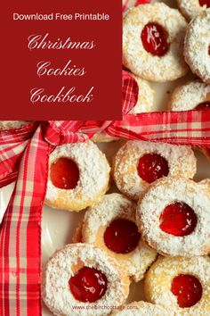 Free Christmas Cookies Cookbook Download - The Birch Cottage