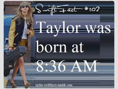 Taylor swift facts