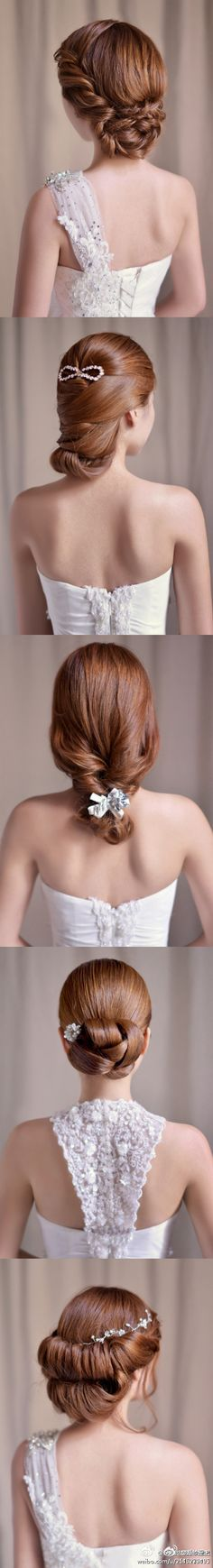 formal updo hair-do's. I like the top one