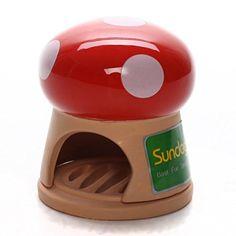 Sundog Ceramic Mushroom Hideout House For Hamster Sundog http://smile.amazon.com/dp/B00SGYGMAY/ref=cm_sw_r_pi_dp_magtxb1428GK8