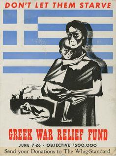 Greek War Relief Fund - Canada