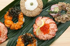 GWのホームパーティーに! 4種の寿司ドーナッツ