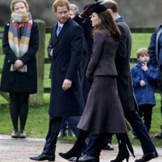 "Rebecca English on Twitter: ""The Duke & Duchess of Cambridge and Prince Harry join the Queen, Prince Philip and Prince Charles at Sunday service. 2015"