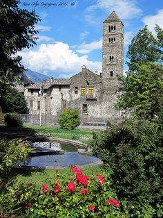 La cittadina di Susa (TO) - Piemonte - Italia