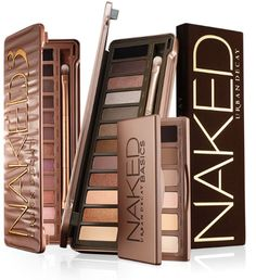Urban Decay Naked Palettes. I want them all!