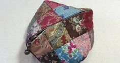 Small Zipper Coin Purse. Quilting and Patchwork Tutorial
