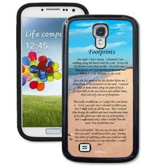 Footprints Galaxy S4 Case - Galaxy S4 TrueCase - Galaxy Cases