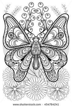 Enjoy This Free Adult Advanced Butterfly Coloring Page Of KidsPressMagazine Surely Youve Heard About The Trend But Do You Know Why