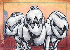 Mouser sketch card by JLWarner