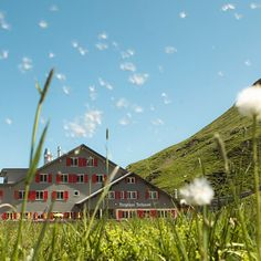 Bärghuis Jochpass Engelberg, Switzerland, Hiking, Cabin, Mountains, House Styles, Nature, Travel, Beautiful