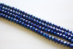 6x4MM Crystal Beads by TwinBeadsLLC on Etsy