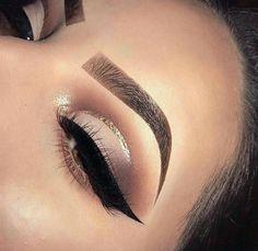 "white-luxury-x: ""Luxury&Makeup? "" - Make Up 2019 Flawless Makeup, Glam Makeup, Gorgeous Makeup, Pretty Makeup, Skin Makeup, Makeup Inspo, Eyeshadow Makeup, Awesome Makeup, Glowy Skin"