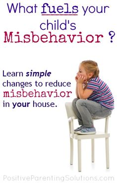 Learn simple changes YOU can make to reduce misbehavior in your house.