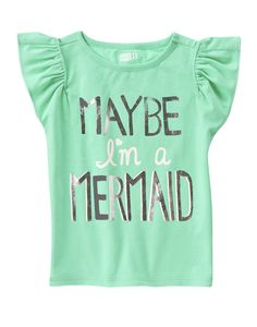 Maybe I'm A Mermaid Tee at Crazy 8