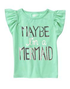 Maybe I'm A Mermaid Tee at Crazy 8