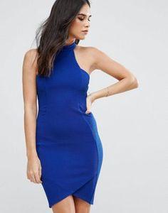 AX Paris Halterneck Crepe Midi Dress