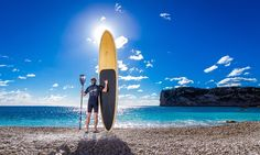 Stand Up Paddle Board SUP Rental in Javea