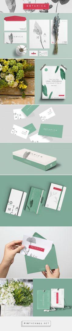 BOTANICA Floral Branding by Alfonso Cervantes | Fivestar Branding – Design and Branding Agency & Inspiration Gallery | #BrandingInspiration