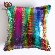 Magical Reversible DIY Mermaid Sequin Cushion Cover  Price: $9.95 & FREE Shipping  #CozyAndMe #cottagestyle #interior123 #bestoftheday