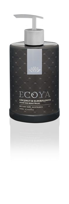 ECOYA Hand & Body Wash - Coconut & Elderflower  http://www.ecoya.com/