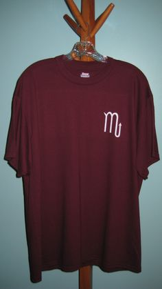 Scorpio Crossword T-shirt (Front)