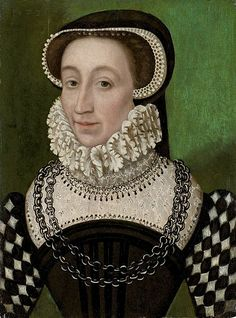 Portrait of Catherine de' Medici.