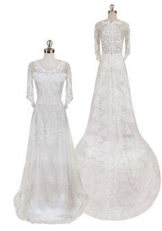 JULIA Wedding Dress by Claire Pettibone --> http://www.clairepettibone.com/bridal/?cp=gowns/julia