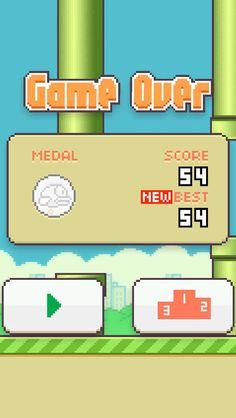 Playin flappy bird