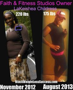 Lekeishea lost 45 pounds and opened a fitness ministry | Black Weight Loss Success