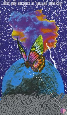 Baldwin Pavillion, Oakland University 9/1/68  Artist:  Carl Lundgren    Performers:  Procul Harum  Pink Floyd  Howlin' Wolf  Chrysalis  Rationals  SRC  Thyme  MC5  Jagged Edge  Psychedelic Stooges  Frost  Children