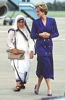 diana and mother | Diana and Mother Teresa died one week apart: Diana on August 31, 1997 ...