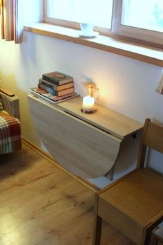 21 best wall mounted dining table images fold away desk desk rh pinterest com