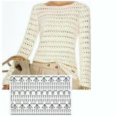 Quick And Easy Blouse For Women – We Love Crochet – crochets Pull Crochet, Gilet Crochet, Crochet Cardigan Pattern, Crochet Jacket, Crochet Blouse, Crochet Shawl, Diy Crochet, Crochet Bikini, Crochet Designs
